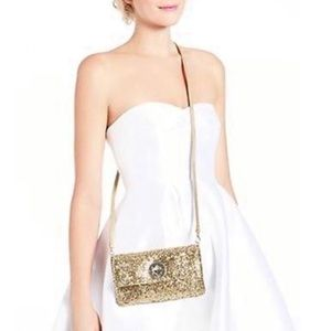 Kate Spade Sparkler Missy Glitter Evening Bag